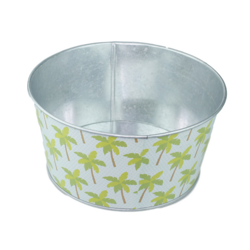 Palm Tree Flower Pot - Akil Bros