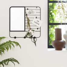 Load image into Gallery viewer, Metal Hanger w/ Mirror - Akil Bros