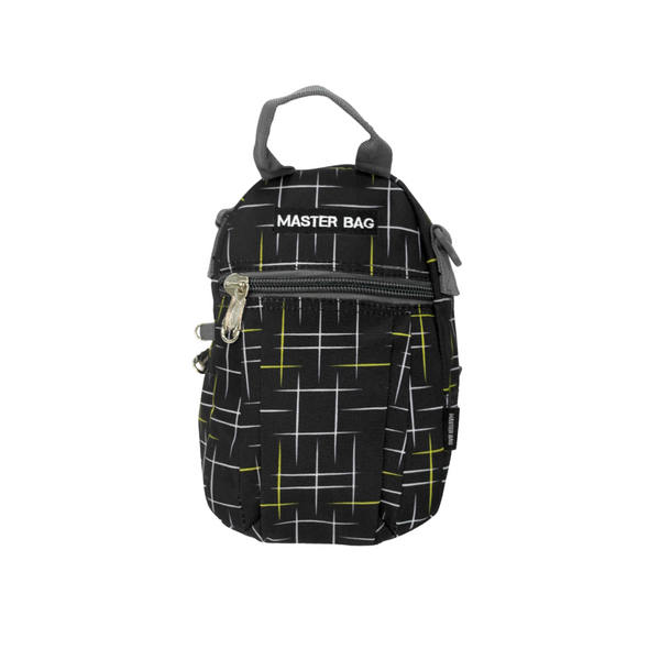 Master Bag Black Lined Lunch Bag