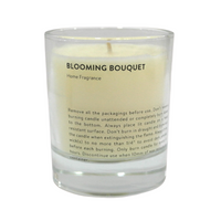 Scented Candle with Glass Holder