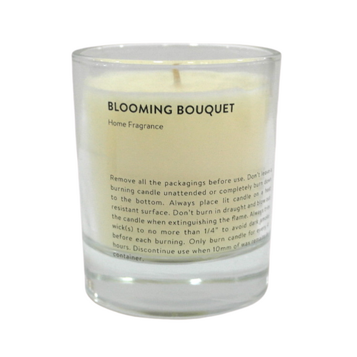 Scented Candle with Glass Holder - Akil Bros