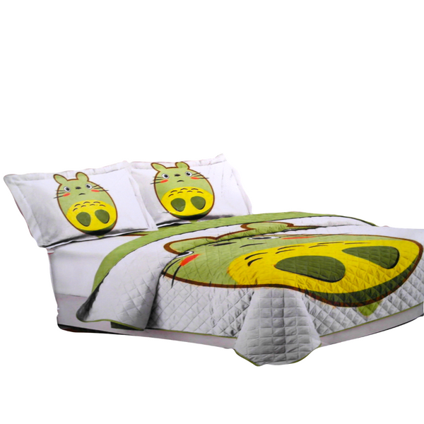Green Hamster Bed Cover Set (180 x 240 cm)