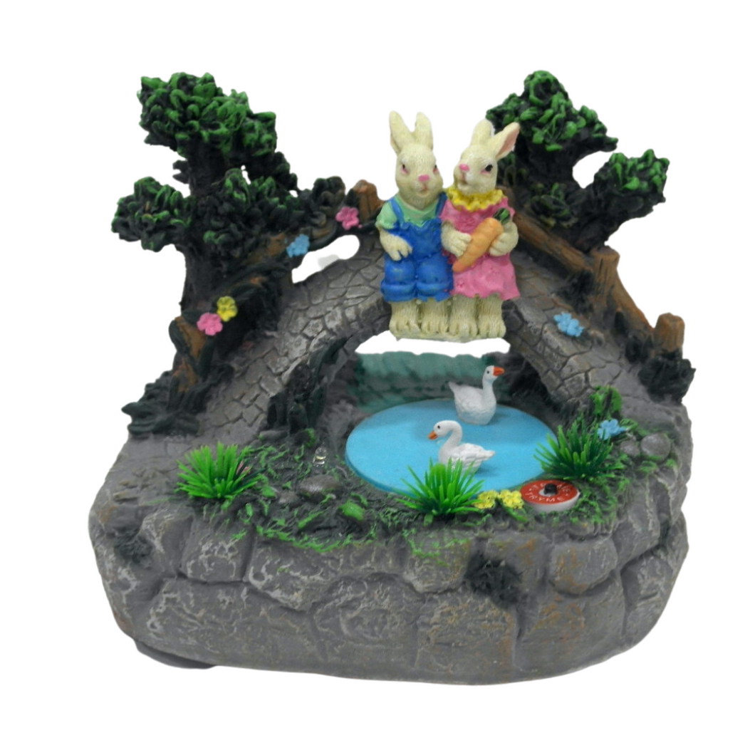 Animated Easter Pond - Akil Bros