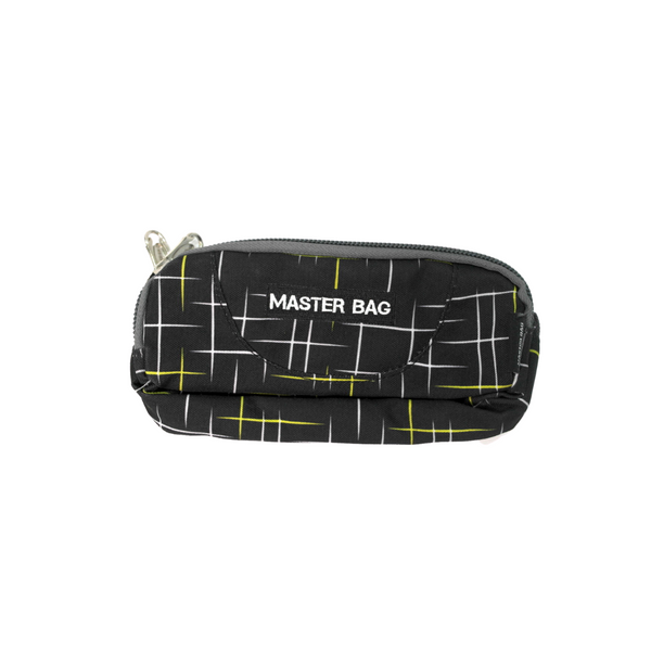 Master Bag Black Lined Pencil Case