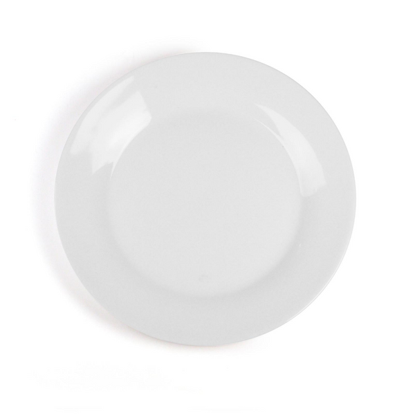 Plain Porcelain Dinner Plates