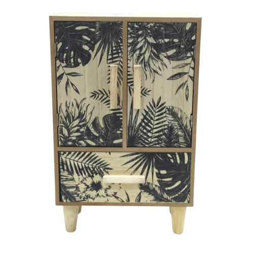 Tropical Wooden Storage Closet - Akil Bros