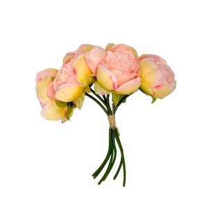 Artificial Pink Flowers Bouquet - Akil Bros