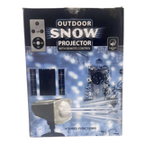 Outdoor Snow Projector w/ Remote Control