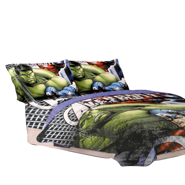Avengers Bed Cover Set (180 x 240 cm)