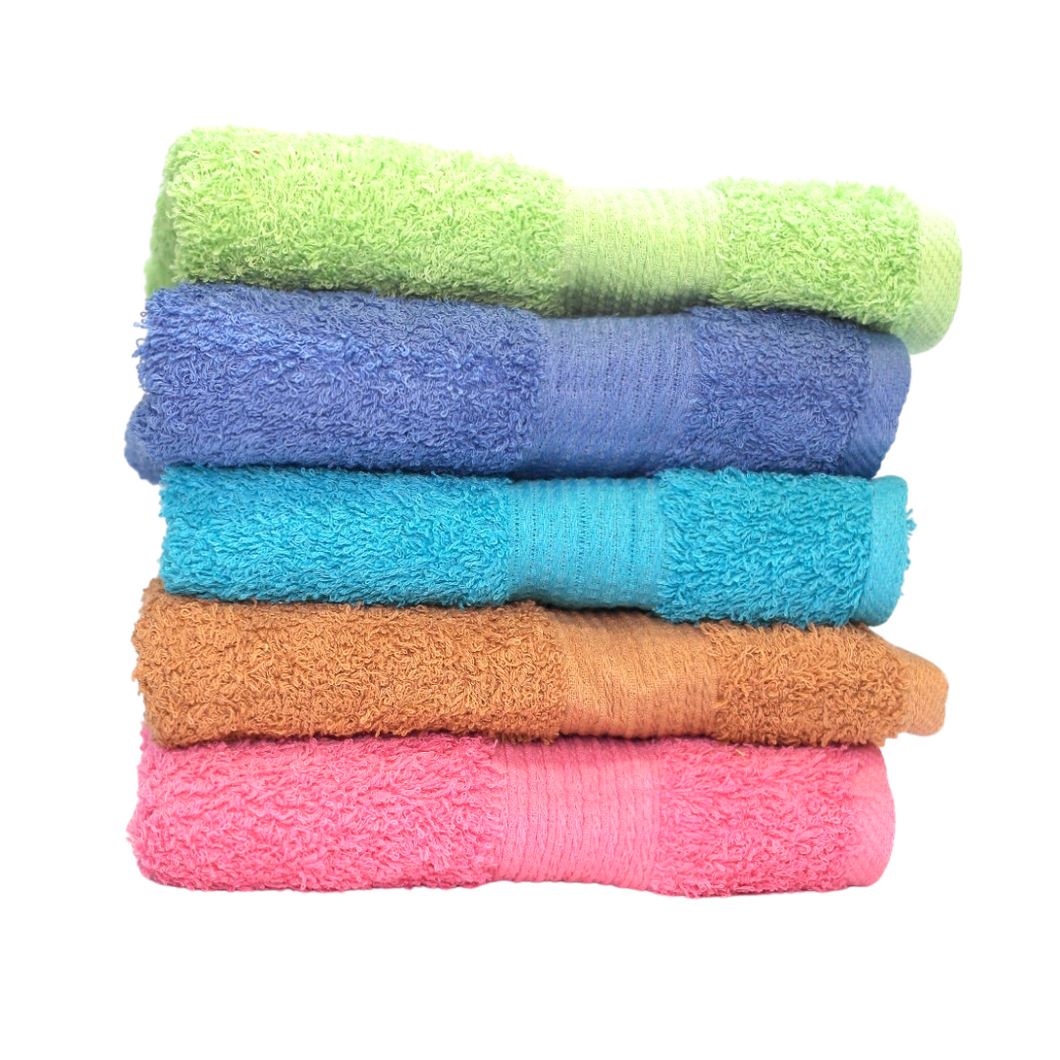 Solid Color Hand Towels - 50 x 100 cm - Akil Bros