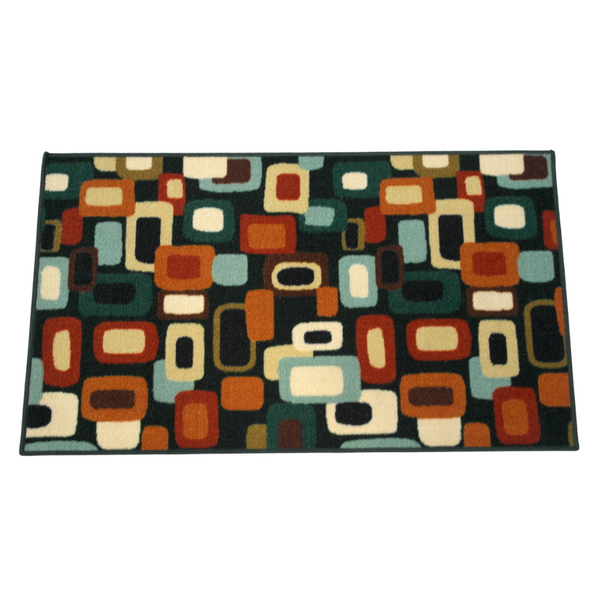Colorful Geometric Rug (114 x 67 cm)