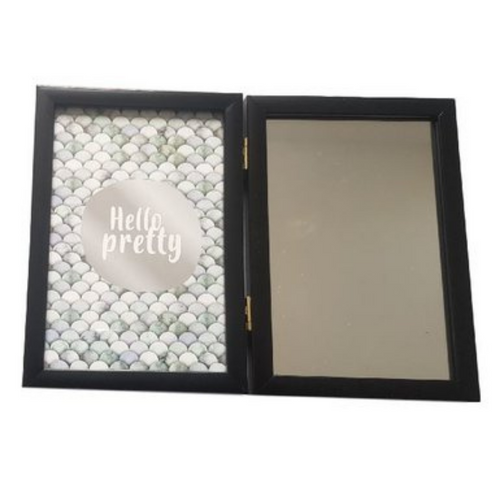 Black Double Photo Frame - 10 x 15 cm - Akil Bros
