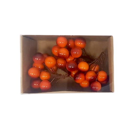 Orange Berries Decoration Picks - Akil Bros