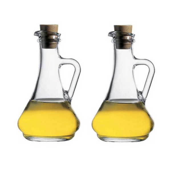Pasabahce Oil and Vinegar Bottles - Set of 2