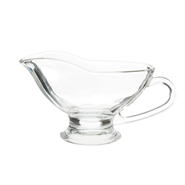 Glass Sauce Boat