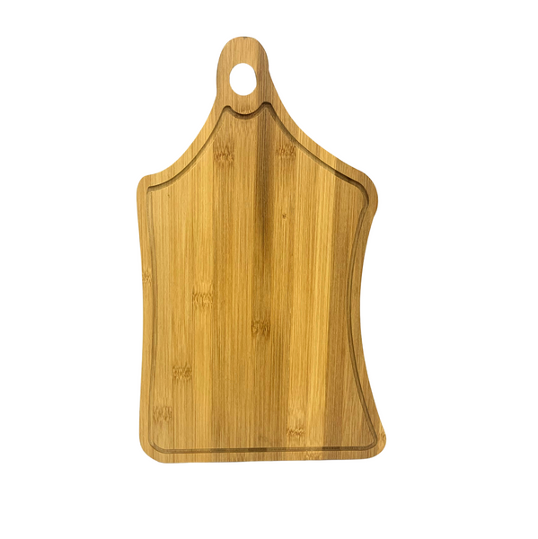 Rectangular Wooden Cutting Board With Handle