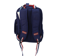 Navy Backpack w/ Handle and Pencil Case
