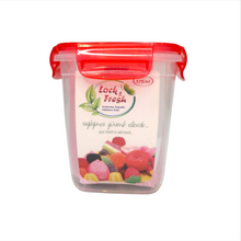 Load image into Gallery viewer, Dunya Airtight Plastic Food Container w/ Colored Lid - 575ml