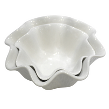 Load image into Gallery viewer, Porcelain Wavy Bowl