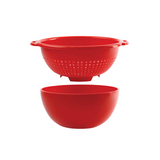 Gab Plastic Salad Bowl with Colander - 26cm