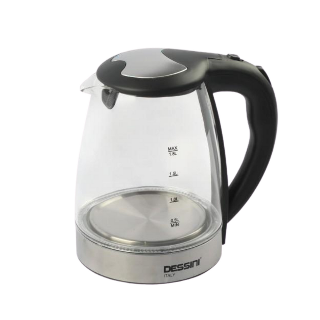 Dessini Glass Electric Kettle - Akil Bros