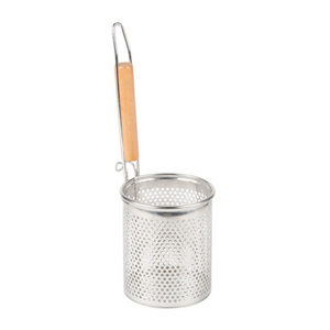 Stainless Steel Noodle Food Strainer with Handle