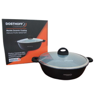 Dosthoff Induction Master Low Casserole w/ Cover (32 cm)