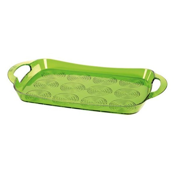 Green Helezon Plastic Tray