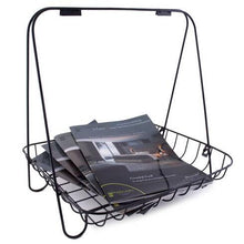 Load image into Gallery viewer, Metal Magazine Rack - Akil Bros