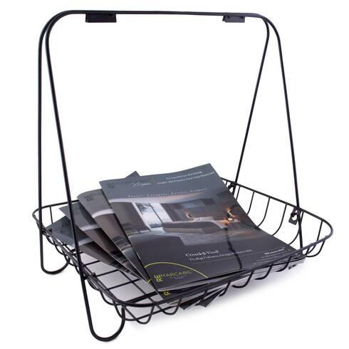 Metal Magazine Rack - Akil Bros