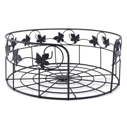 Metal Black Wire Basket - Akil Bros