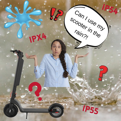 Confused about IP rating and using your scooter in the rain