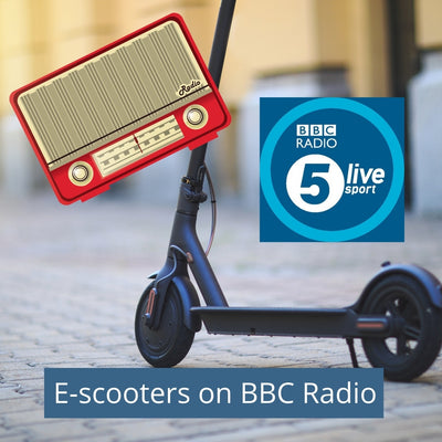 BBC 5 Live discussing electric scooters