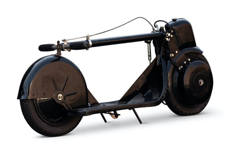 autoped collapsible scooter