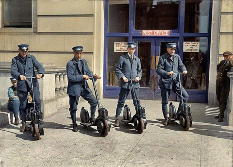 US postal service scooters