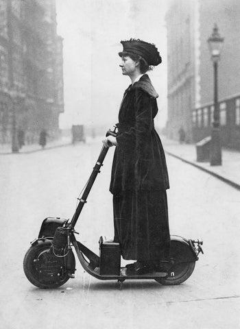Lady Norman Florence scooter