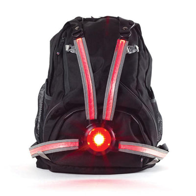 Oxford Commuter X4 Fibre Optic Rear Light - horizon micromobility