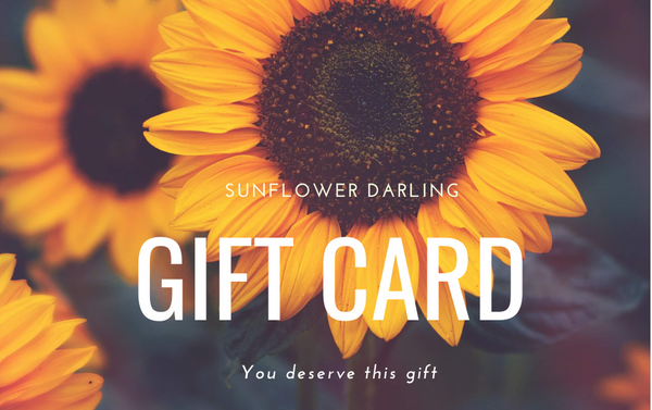 Sunflower Giftcard