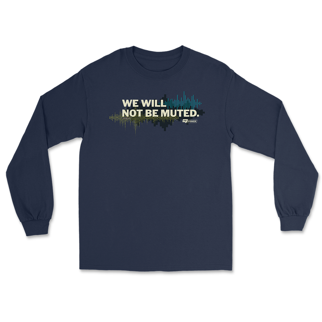 Not Muted Long Sleeve T-Shirt