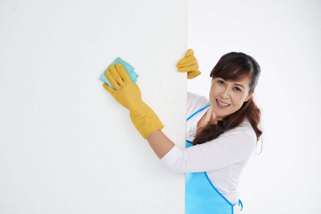 Wall Cleaning ($25.00 per room)