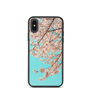 Cherry Blossoms Biodegradable phone case