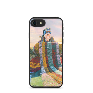 A Hanbok of Flowers Biodegradable Phone Case