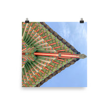 Load image into Gallery viewer, Korean Palace Eave Poster
