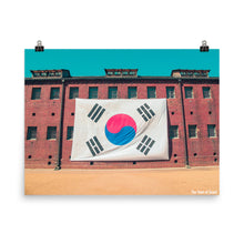 Load image into Gallery viewer, Korean Flag Poster