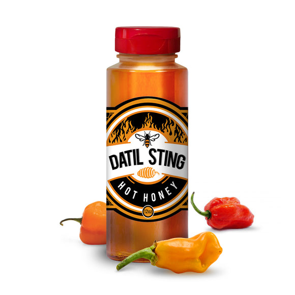 Datil Sting Local Hot Honey