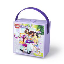 LEGO LUNCH BOX WITH HANDLE THEME - LAVANDA