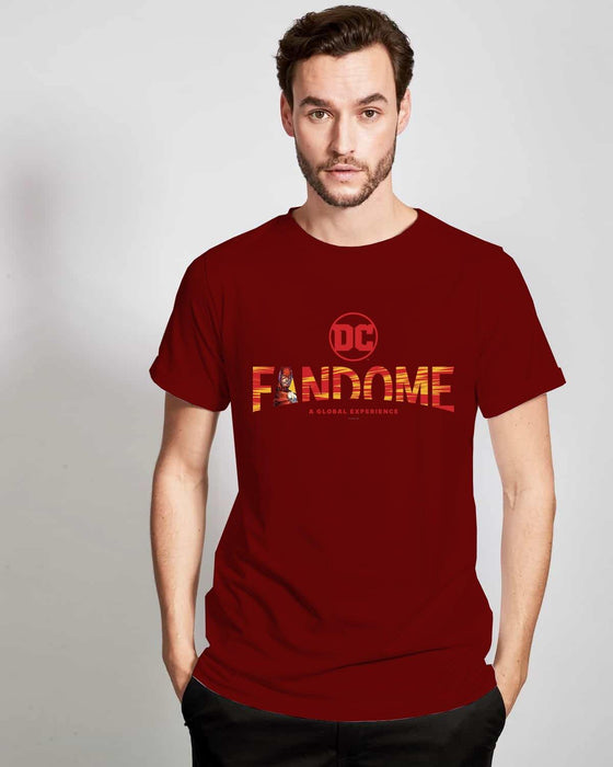 Playera DC Fandome Logo - Flash