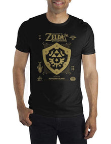 Playera Escudo Zelda - Fan Army
