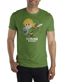 Playera Zelda Combate Verde - Fan Army