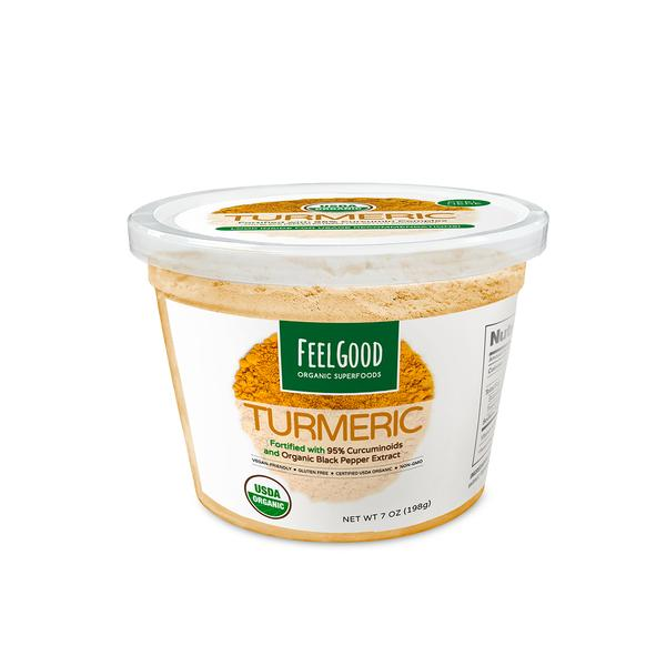 Turmeric Root Powder - Fortified (7 oz)